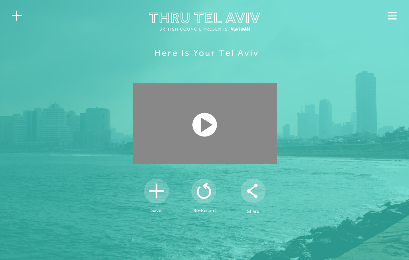 Thru Tel Aviv - Kutiman's mix the city